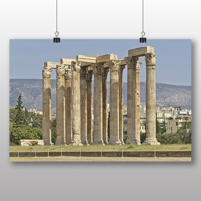 Big Box Art Athens Greece Photographic Print Wrapped on Canvas