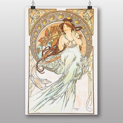 """Big Box Art """"Piece No.7"""" by Alphonse Mucha Art Print"""