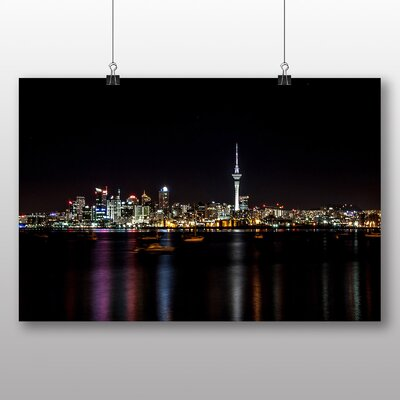 Big Box Art Auckland New Zealand Photographic Print Wrapped on Canvas