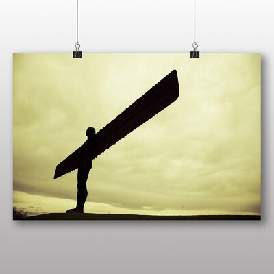 Big Box Art Angel of the North Newcastle Photographic Print Wrapped on Canvas