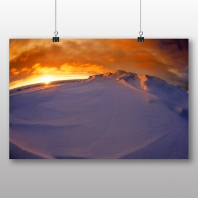 Big Box Art Arctic Glacier No.1 Art Print