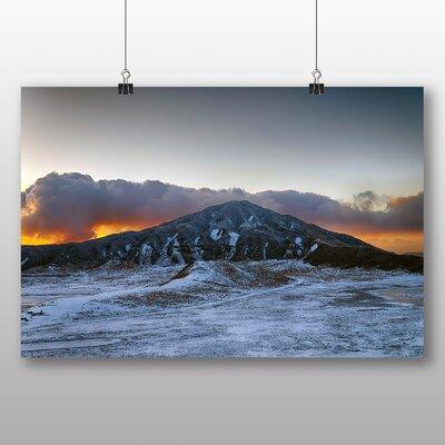 Big Box Art Aso Kumamoto Japan Clouds No.3 Photographic Print Wrapped on Canvas