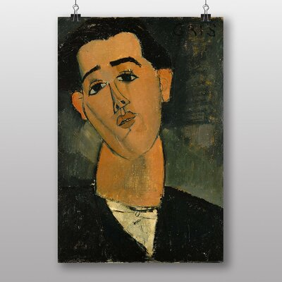 "Big Box Art ""Portrait of Juan Gris"" by Amedeo Modigliani Art Print"