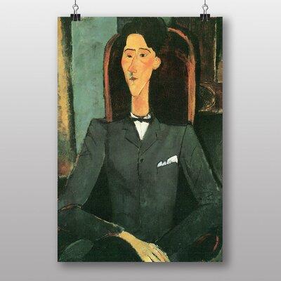 "Big Box Art ""Bildnis Jean Cocteau"" by Amedeo Modigliani Art Print"