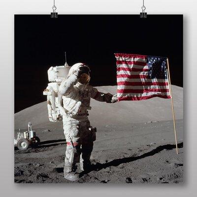 Big Box Art Astronaut Space Moon Landing Photographic Print
