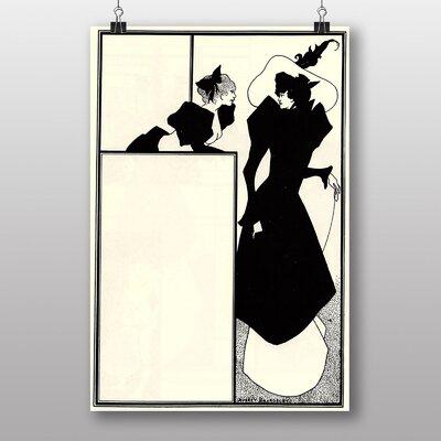 "Big Box Art ""The Spinsters Crip"" by Aubrey Beardsley Graphic Art"