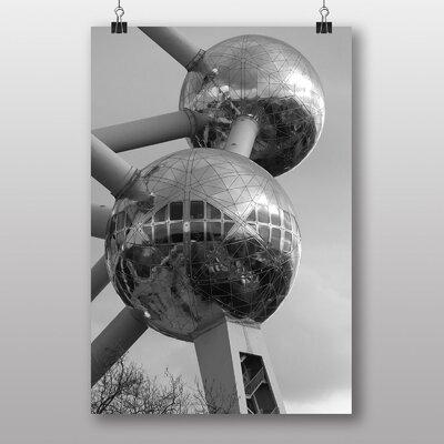 Big Box Art Atomium Brussels Photographic Print