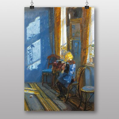 Big Box Art Anna Ancher Sunlight in the Room Art Print