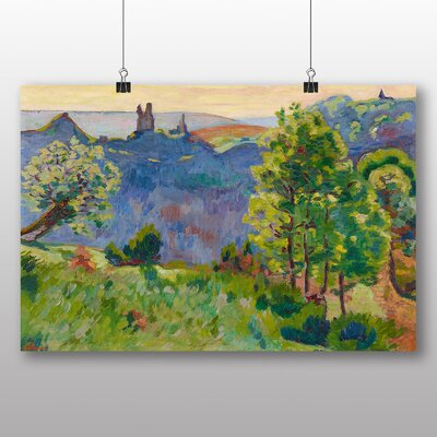 Big Box Art 'Landscape No.2' by Armand Guillaumin Art Print