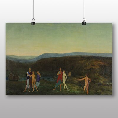 Big Box Art 'Midsummer Evening' by Arthur Bowen Davies Art Print