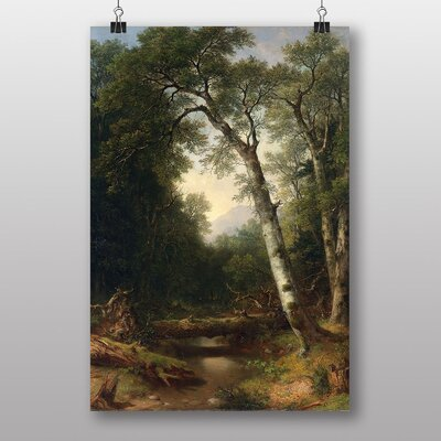 "Big Box Art ""A Creek in the Woods"" by Asher Brown Durand Art Print"