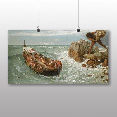 Big Box Art Odysseus and Polyphemus' by Arnold Bocklin Art Print