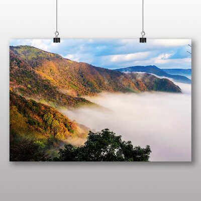 Big Box Art Aso Kumamoto Japan Clouds Photographic Print