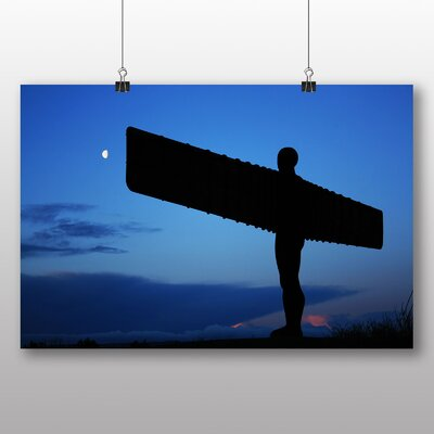 Big Box Art Angel of the North Newcastle No.2 Photographic Print on Canvas
