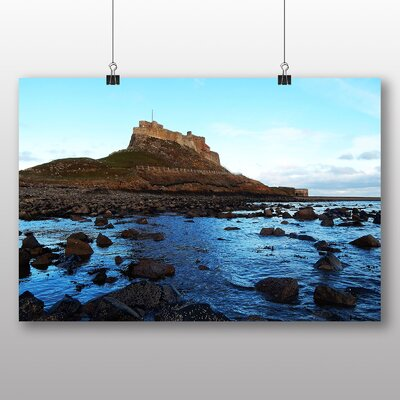 Big Box Art Angelsey Castle Wales Photographic Print Wrapped on Canvas