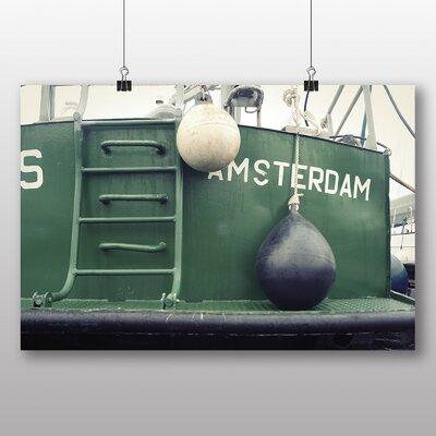 Big Box Art 'Amsterdam Boat' Photographic Print