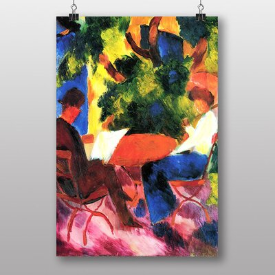 "Big Box Art ""At the Garden Table"" by August Macke Art Print"
