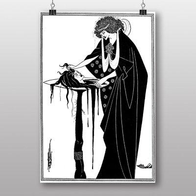 """Big Box Art """"A Tragedy in Act One"""" by Aubrey Beardsley Art Print"""