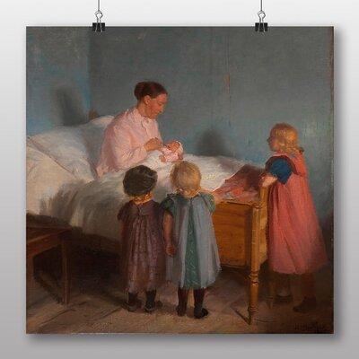 Big Box Art 'Little Brother' by Anna Ancher Art Print