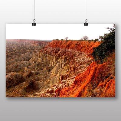 Big Box Art Angola Mountains Photographic Print Wrapped on Canvas