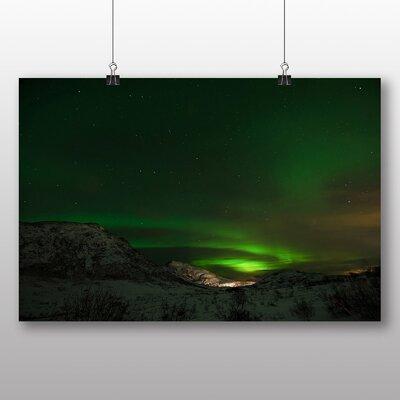 Big Box Art Aurora Borealis The Northern Lights No.3 Photographic Print on Canvas