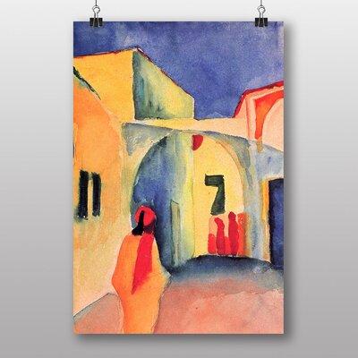 "Big Box Art ""View into a Lane"" by August Macke Art Print"