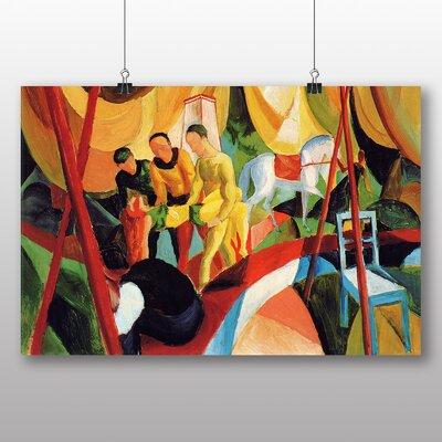 Big Box Art 'Circus' by August Macke Art Print