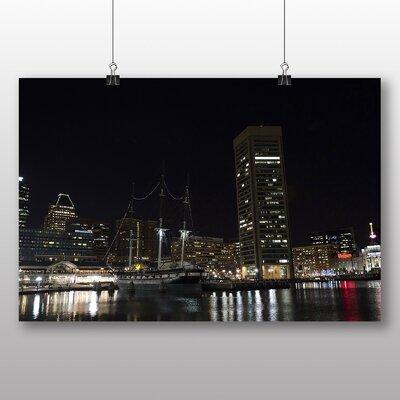 Big Box Art Baltimore Maryland USA Photographic Print Wrapped on Canvas