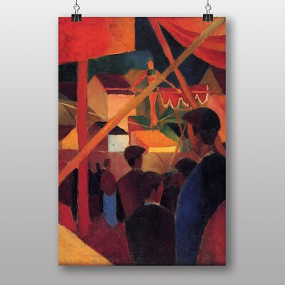 "Big Box Art ""Tightrope Walker"" by August Macke Art Print"