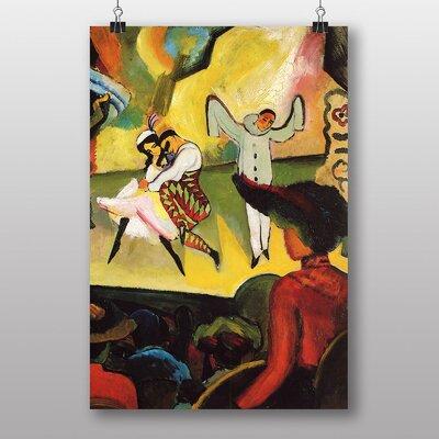"""Big Box Art """"Russian Ballet"""" by August Macke Art Print"""