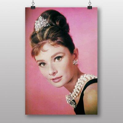 Big Box Art Audrey Hepburn No.7 Photographic Print