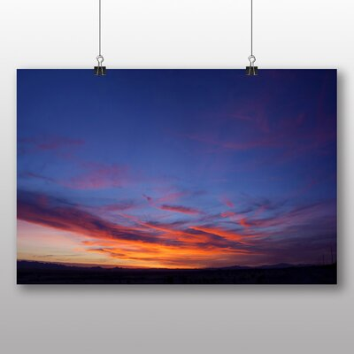 Big Box Art Arizona Sunset No.3 Photographic Print on Canvas