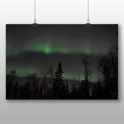 Big Box Art Aurora Borealis The Northern Lights No.5 Graphic Art Wrapped on Canvas
