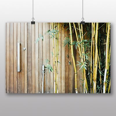 Big Box Art 'Bamboo Wood' Photographic Print