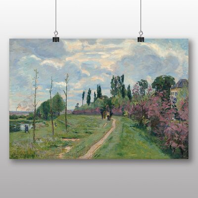 Big Box Art 'Landscape in France' by Armand Guillaumin Art Print
