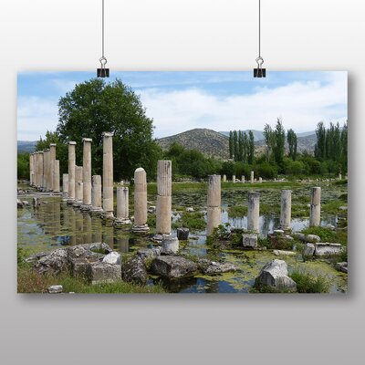 Big Box Art Aphrodisias Turkey Photographic Print Wrapped on Canvas