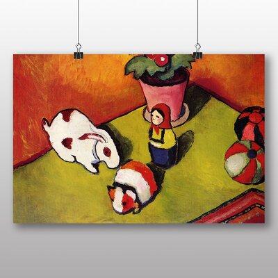 Big Box Art 'Toys' by August Macke Art Print