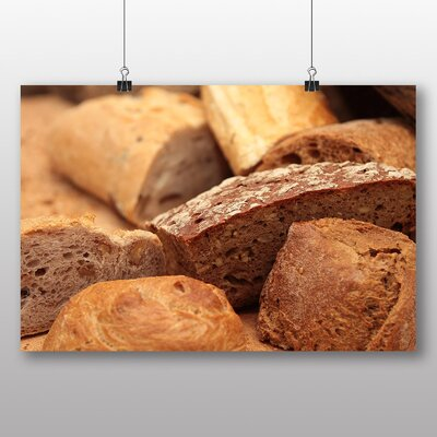 Big Box Art 'Bakery Bread Rolls No.1' Photographic Print