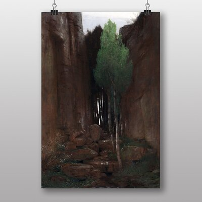 "Big Box Art ""Spring in a Narrow Gorge"" by Arnold Bocklin Art Print"