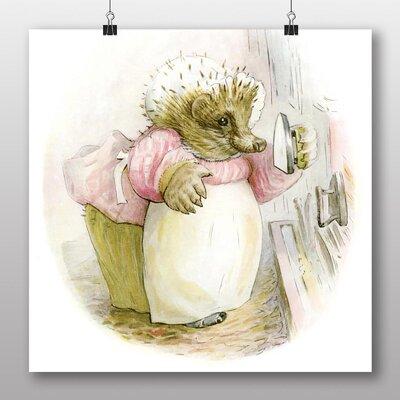 Big Box Art 'Hedgehog' Art Print