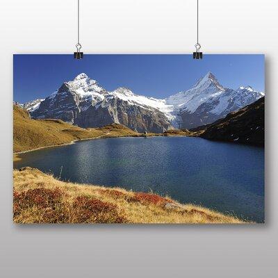 Big Box Art Bachalpsee Switzerland Photographic Print on Canvas