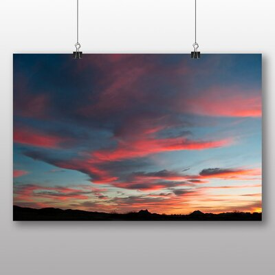 Big Box Art Arizona Sunset No.2 Photographic Print