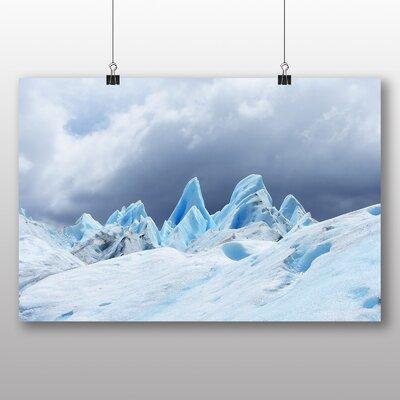 Big Box Art Arctic Glacier No.2 Photographic Print Wrapped on Canvas