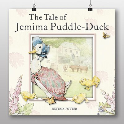 Big Box Art 'The Tale of Jemima Puddle Duck' by Beatrix Potter Graphic Art