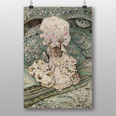 "Big Box Art ""Lady Mouse"" by Beatrix Potter Art Print on Canvas"