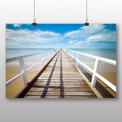 Big Box Art Beach Pier Photographic Print