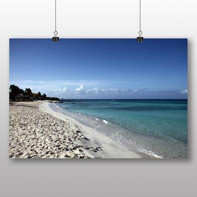 Big Box Art Beach Aruba Photographic Print on Canvas