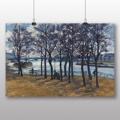 Big Box Art 'Landscape No.3' by Armand Guillaumin Art Print
