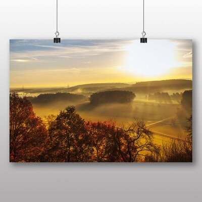 Big Box Art Beautiful Sunrise No.5 Photographic Print