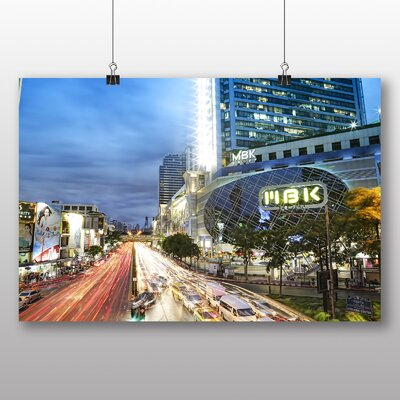 Big Box Art Bangkok Thailand Photographic Print on Canvas